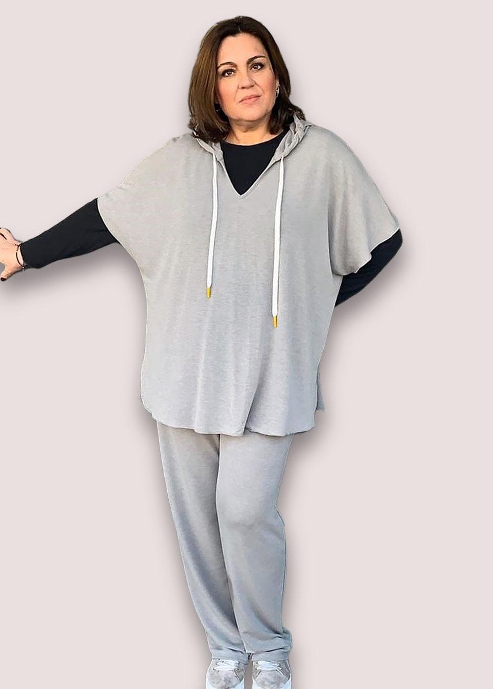 sudadera capucha deporte tallas grandes marca indra tallas grandes