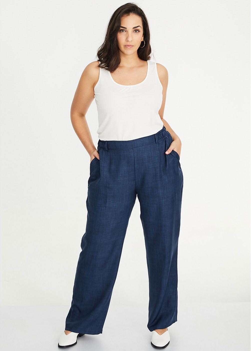 pantalon vestir verano comunion tallas grandes