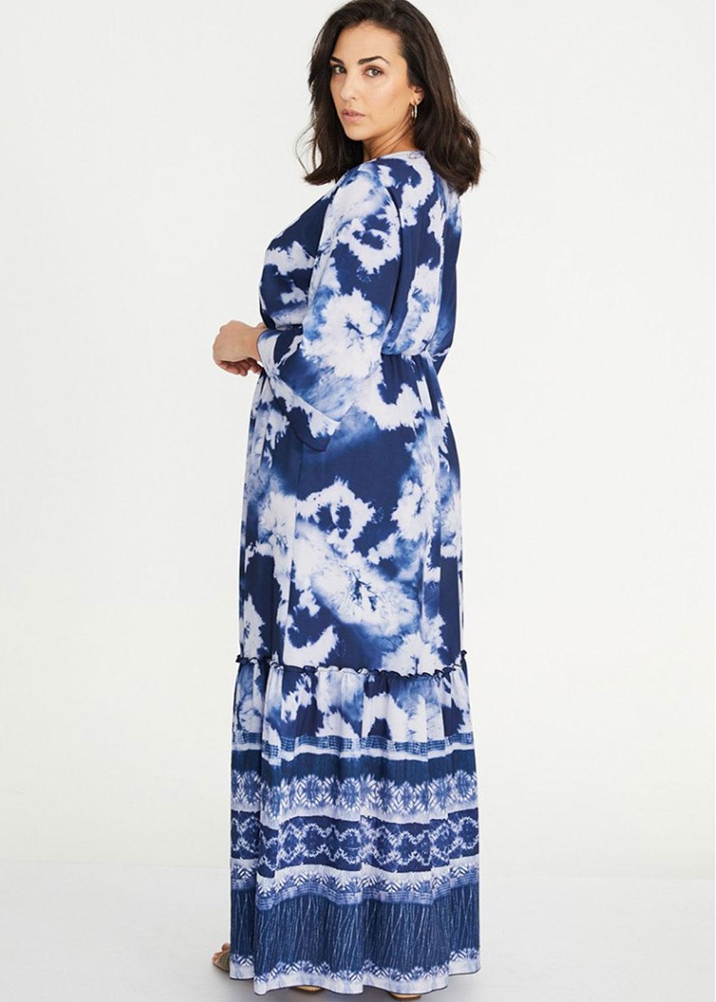 vestido largo formal tallas grandes
