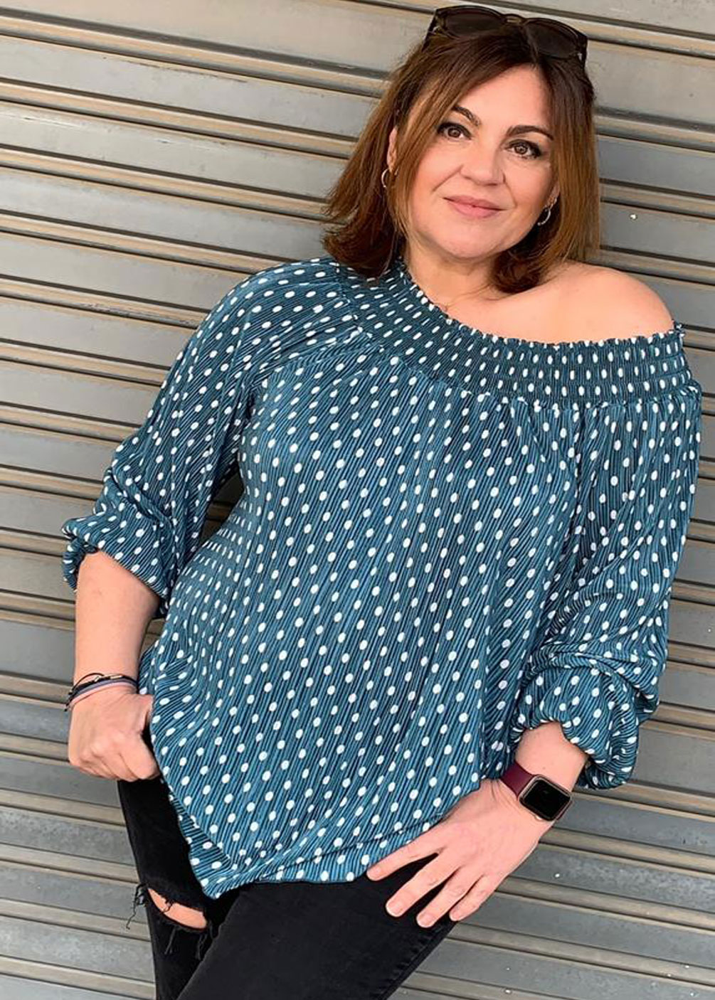 blusa camisa tallas grandes curvy indra plus size