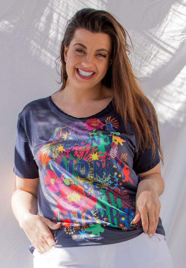 camiseta tallas grandes curvy plus size