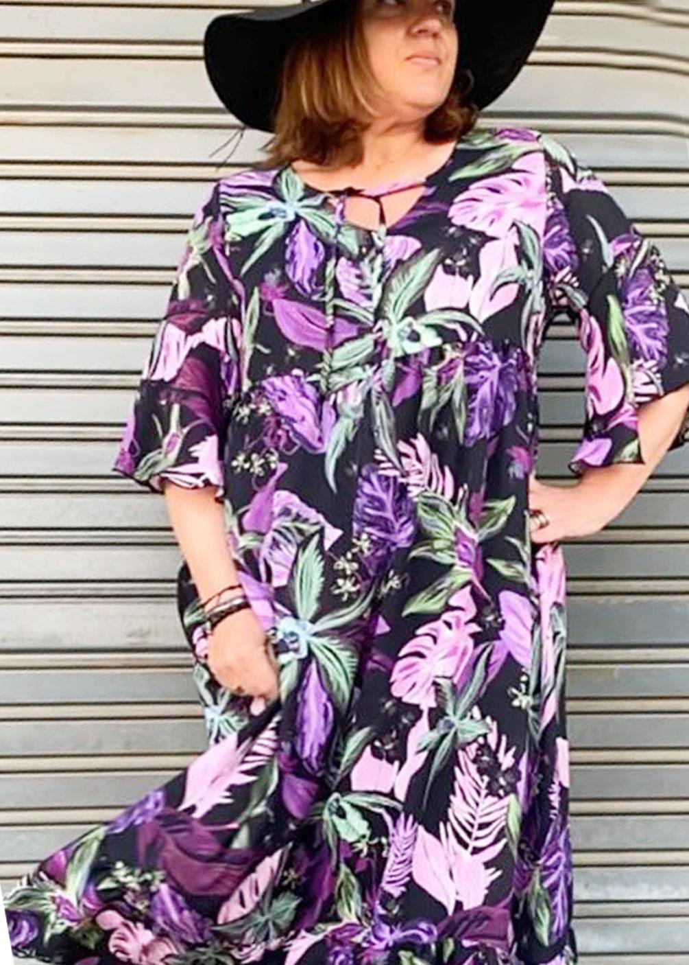 vestido talla grande indra verano 2021