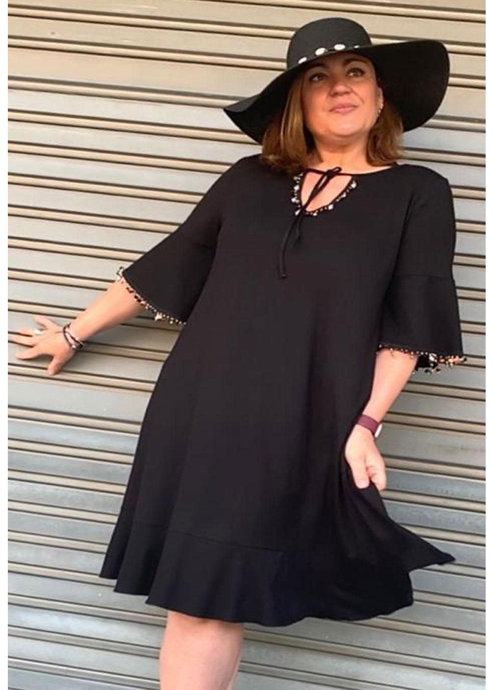 vestido talla grande indra verano 2021 plus size curvy
