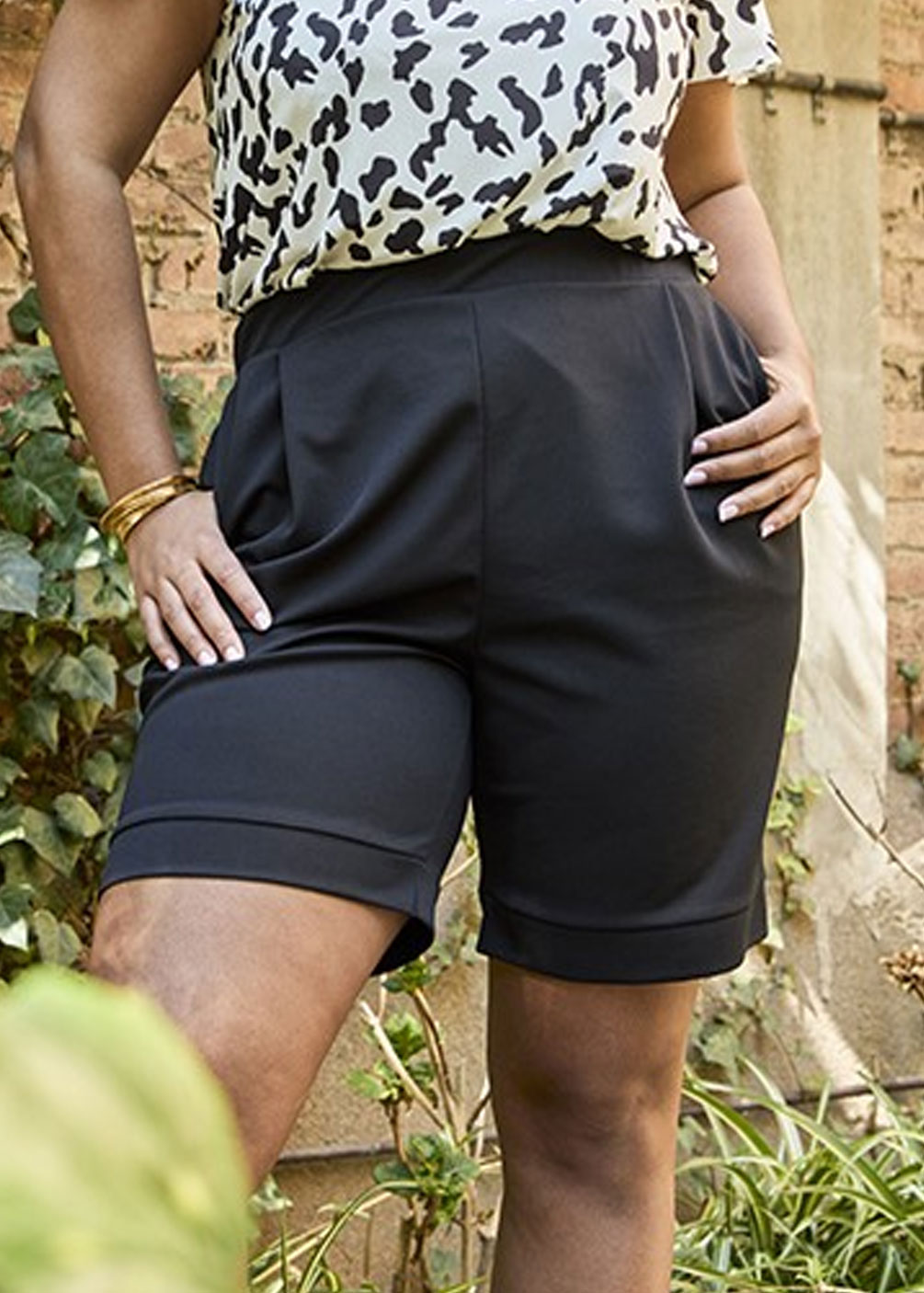 pantalones cortos tallas grandes