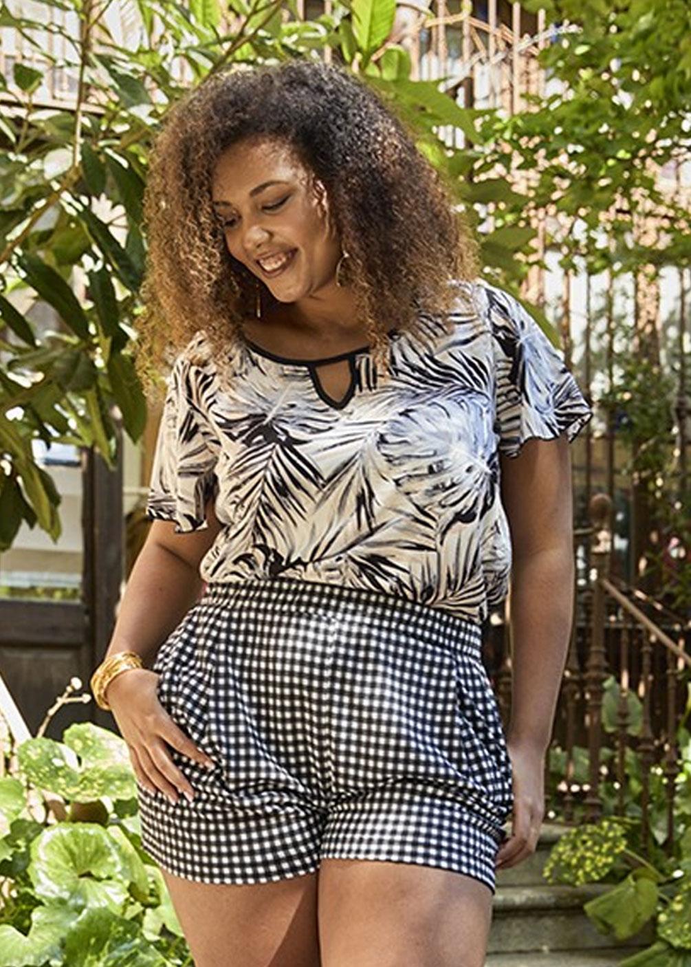 blusa camisa tallas grandes curvy spg