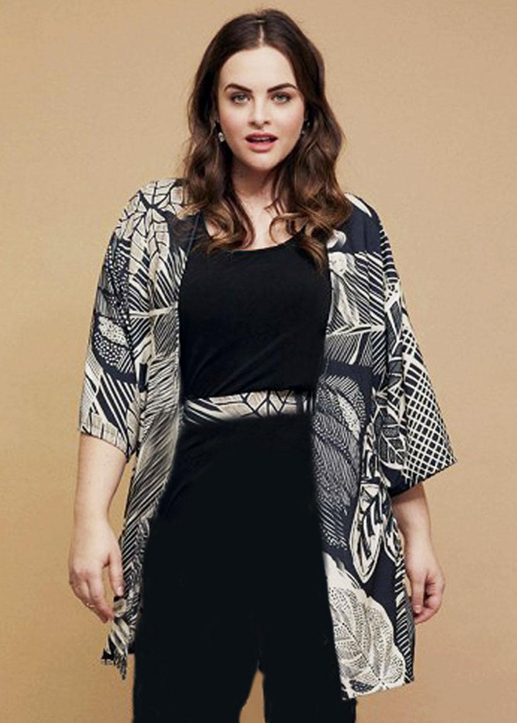 kimono guardapolvos chaqueta sobretodo tallas grandes verano 2021