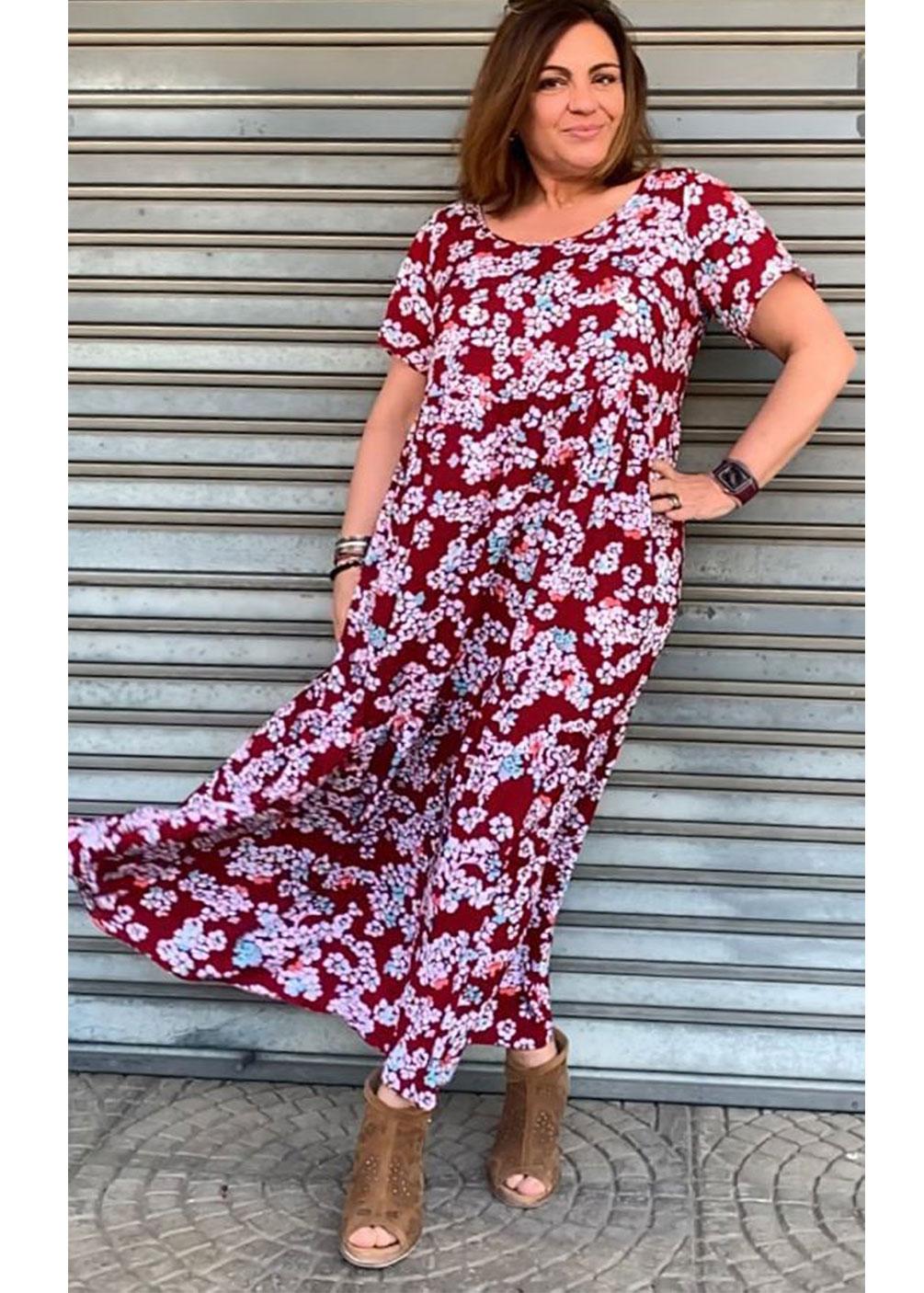 talla 58 60 62 64 vestido verano tallas grandes