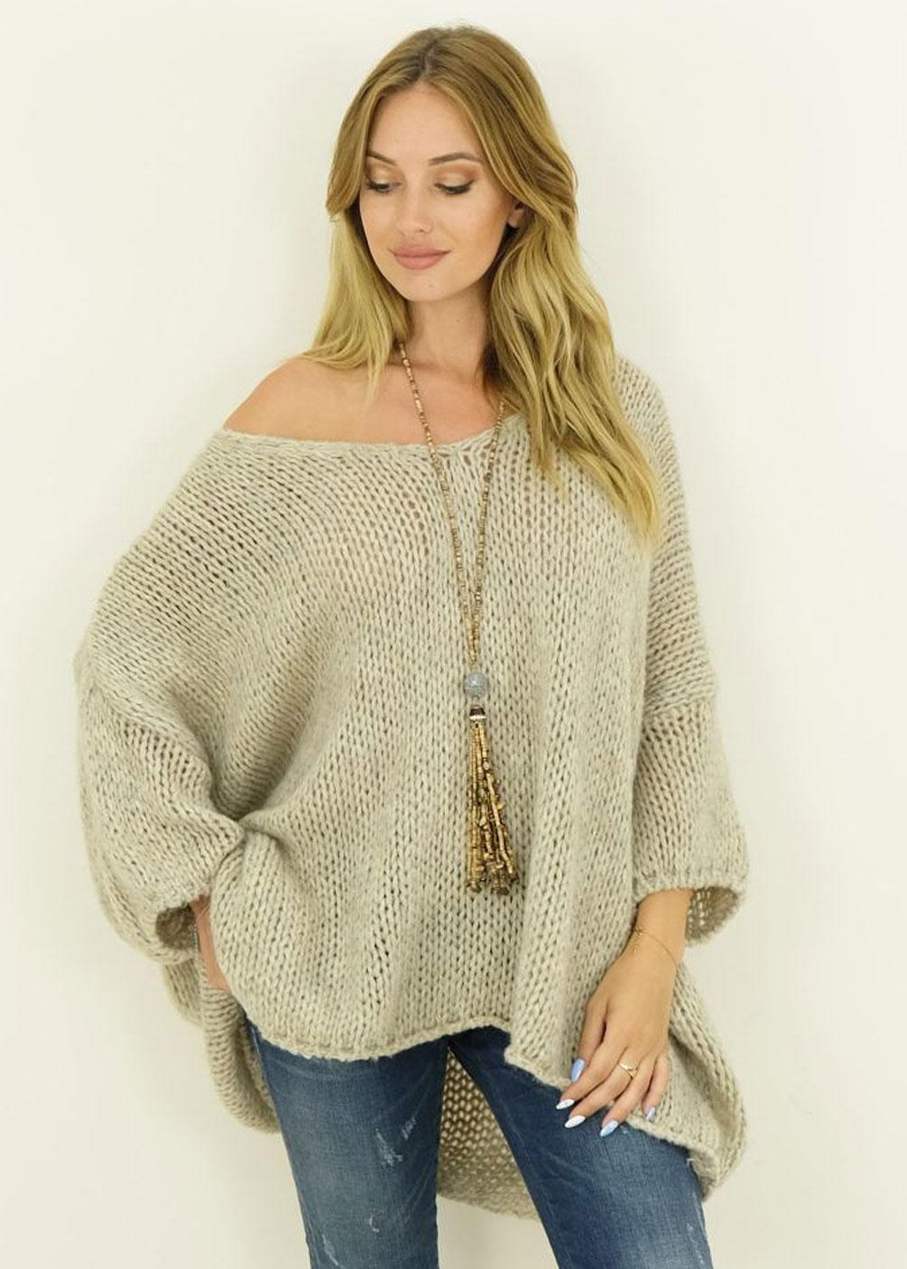 jersey lana tallas grandes