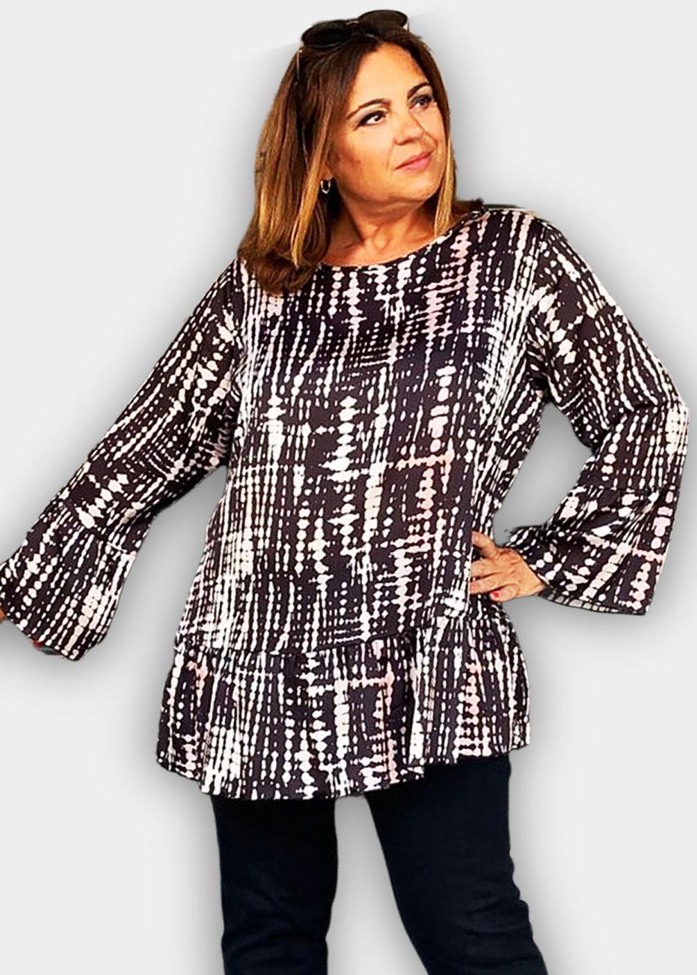 camiseta blusa tallas grandes indra invierno 2021