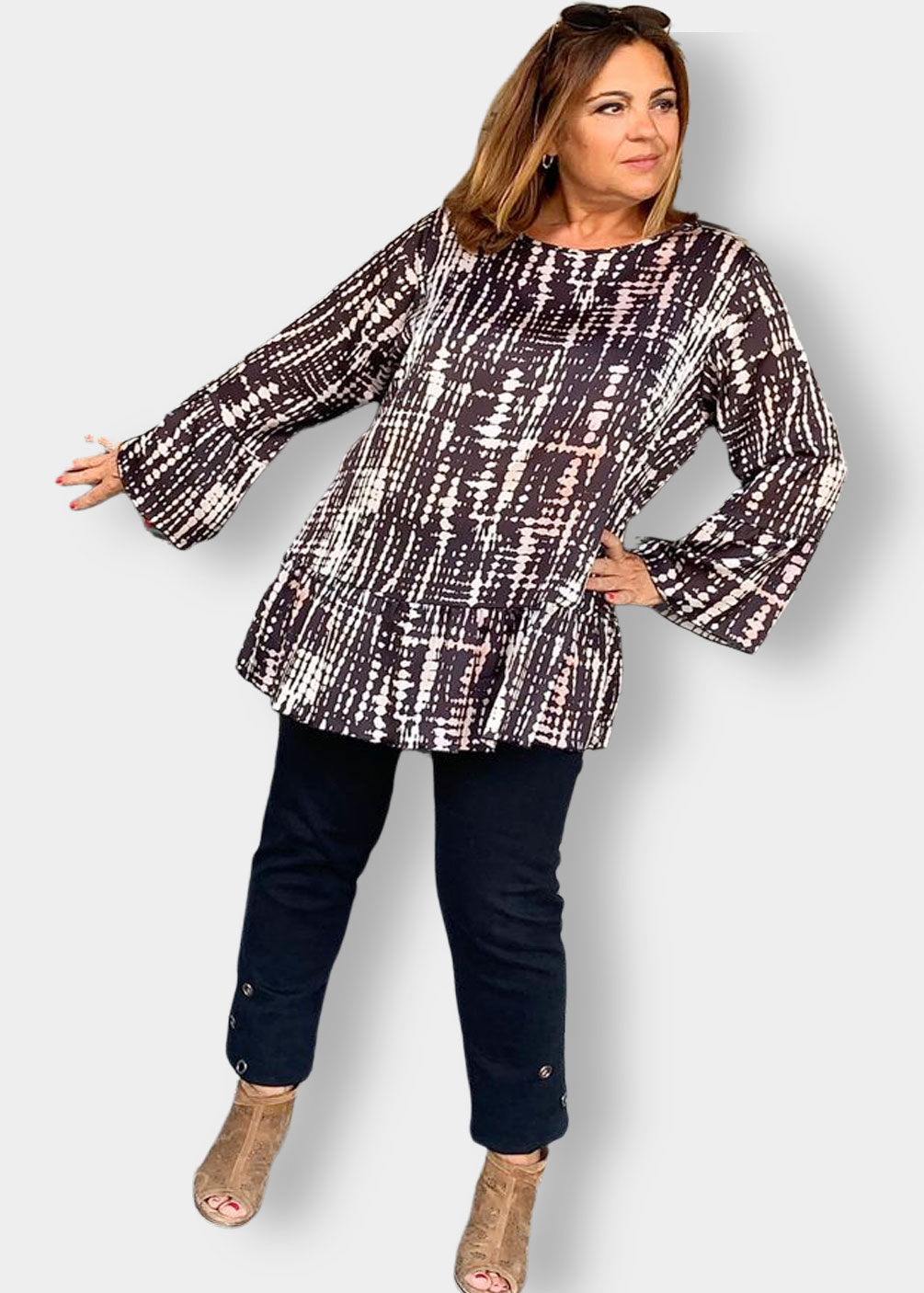 camiseta blusa tallas grandes indra invierno2021